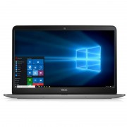 Laptop Dell Inspiron 7548 15.6 inch Ultra HD Touch Intel Core i7-5500U 16GB DDR3 1TB HDD AMD Radeon R7 M270 4GB Windows 10 Pro Silver