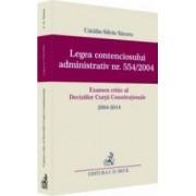 Legea Contenciosului Administrativ Nr. 554 Din 2004 - CataliN-Silviu Sararu