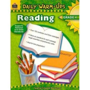 Daily Warm-Ups: Reading, Grade 4 by Sarah Clark