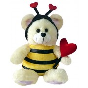 """Chantilly Lane """"Bee Mine"""" Bear Sings """"How Sweet It Is To Be Loved by You"""" Plush, 11"""" by PBC International, Inc"""