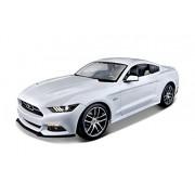 Maisto 38133 - Modellino Auto 2015 Ford Mustang Gt - White Scala 1:18