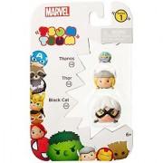 Tsum Tsum Marvel 3-Pack: Black Cat/Thor/Thanos Toy Figure