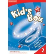 Kid's Box 2 Teacher's Resource Pack with Audio CD: Level 2 by Kathryn Escribano