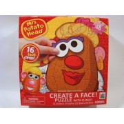 Mrs Potato Head Create a Face 48 Piece Jigsaw Puzzle With Face Clings by Playskool