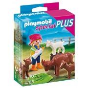 Playmobil - 4785 - Fillette avec ses Chèvres