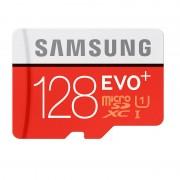 Card Samsung microSDXC EVO Plus 128GB Clasa 10 UHS-I U1 cu adaptor SD