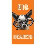 magnetische boekenlegger - big reader - hond met bril