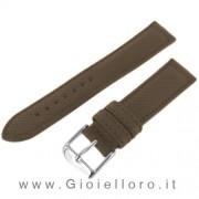 cinturino morellato tessuto panama marrone ansa 24 mm