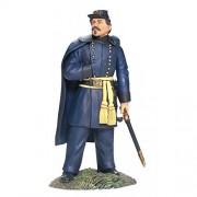 American Civil War Toy Soldiers Union General George Mc Clellan At Battle Of Antietam W Britain 1/32 Scale Metal Figure New In Package