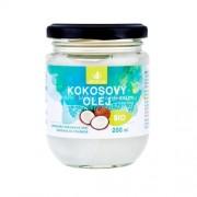 Allnature Premium Bio Coconut Oil 200ml Продукт за намаляне на холестерола Unisex Био кокосово масло