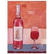 "Eurographics ANF1171 Stampa artistica ""Bring Rosé"" di Anna Flores, 18x24 cm"