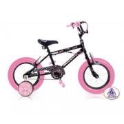 INJUSA 1233 - Hello Kitty black Bicicleta de niños 12 pulgadas