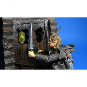 Lord of the Rings Fellowship of the Ring Samwise Gamgee with Moria Mines Goblin Battle Action Base