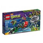 LEGO Tortugas Ninja - Ataque aéreo en el T-Rawket, juego de construcción (79120)