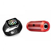ETN Bluetooth Speaker (_JBL Charge K3+ Speaker) And A1 Smart Watch for Samsung C7 Pro