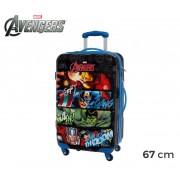 4411551 Trolley da viaggio rigido in ABS The Avengers 67 x 42 x 24 cm