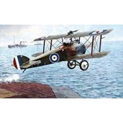 Roden Sopwith 2F1 Camel British Ship-Borne Biplane Fighter Airplane Model Kit by Roden
