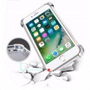 Apple Housse Silicone Ultra Slim Transparente avec Renfort pour Apple iPhone 7 Plus