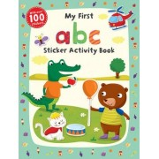 My First ABC Sticker Activity Book by Jannie Ho