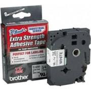 Лента Brother TZ-S241 Tape Black on White, Strong Adhesive, 18mm, 8 m - Eco - TZES241