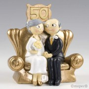 Figura bodas de oro 50 aniversario