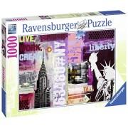Ravensburger - 19613 - Puzzle New York City Collage - 1000 pièces