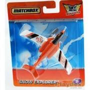 Matchbox Sky Busters Missions Adventure Aircraft Snow Explorer 2010 Mattel