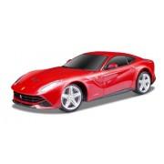 Maisto 1:24 Scala Ferrari F12 Berlinetta con Pistol Grip Regolatore Radio Controlled Model Car (Red)