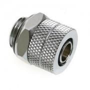 Fiting compresie alama Bitspower 1/4inch la 10/8mm, Shiny Silver