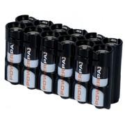 Organizador de 12 Baterías AA Powerpax - Negro
