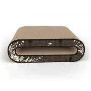 CAT-ON Designový škrábací nábytek pro kočky Le Rouleau wall | 002 brown