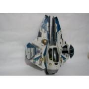 Star Wars 30th Anniversary Saga 2007 Vehicle Obi Wan Episode Iii Blue Jedi Starfighter