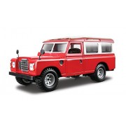 Bburago - 22063Bl - Véhicule Miniature - Modèle À L'Échelle - Land Rover 110 - Echelle 1/24 - Coloris Assortis