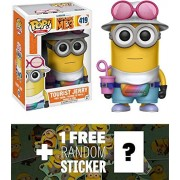 Tourist Jerry: Funko POP! Movies x Despicable Me 3 Vinyl Figure + 1 FREE CG Animation Themed Trading Card Bundle (13427)