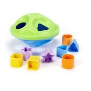Green Toys - 66068 - Forme À Trier Et À Empiler - Shape Sorter