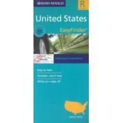 United States Regional EasyFinder Map by Rand McNally