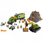 LEGO® City Bază de explorare a vulcanului 60124