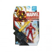 Marvel Universe Iron Spider-man Clear Variant Action Figure Series 2 #021 by Hasbro