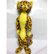"""Madagascar 3 Europe's Mosted Wanted 15"""" Inch Gia The Jaguar Plush Figure Doll Toy by The Toy Factory"""