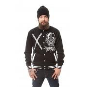 Kurtka bomber college jacket - SKULL LORD VARSITY