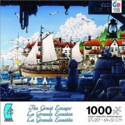 The Great Escape The Fishing Boat Sets Sail Jigsaw Puzzle