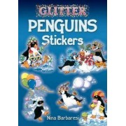 Glitter Penguins Stickers by Nina Barbaresi