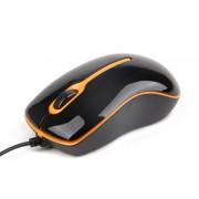 Mouse optic USB Gembird, 1000dpi, Black (MUS-U-004-O)