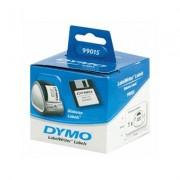 DYMO Etichete din hartie albe dischete 70x54mm