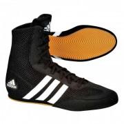 Adidas Box Hog II Zwart Wit - 42
