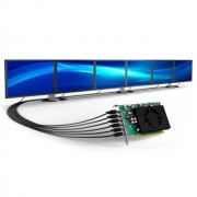 VC, Matrox C680 E4GBF, 4GB GDDR5, PCI-E 3.0, поддръжка до 6 монитора (MATROX-C680-E4GBF)