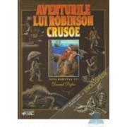 Aventurile lui Robinson Crusoe. Cartea de aventuri pentru copii + Enciclopedie