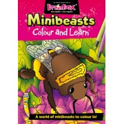 Colour and Learn Minibeasts Colouring Book