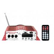 VK 200 - 12V Zosilňovač s rádiom ,USB, 4-kanály 40W + diaľkové