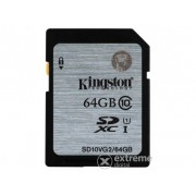 Card memorie Kingston SDXC 64GB Class10 UHS-I 45MB/s